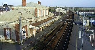 Gare de Carentan - Carentan station in 2007