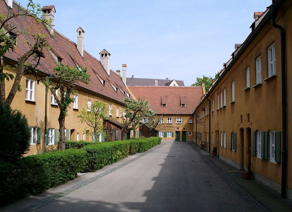 fuggerei wikipedia. Black Bedroom Furniture Sets. Home Design Ideas