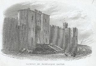 Gateway Of Carnarvon Castle