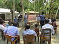 Gathering in a meeting of villagers in an Bangladeshi village 2015 20.jpg