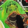 Gavari dance drama character - wife of Bhanjara chief.jpg
