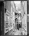 gemeente archief, achtergevels tijdens restauratie - delft - 20052745 - rce