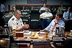 Gen. James D. Thurman briefs U.S. Deputy Defense Secretary Ashton B. Carter, July 2012.jpg