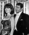 Gene Barry Tina Louise 1964.JPG