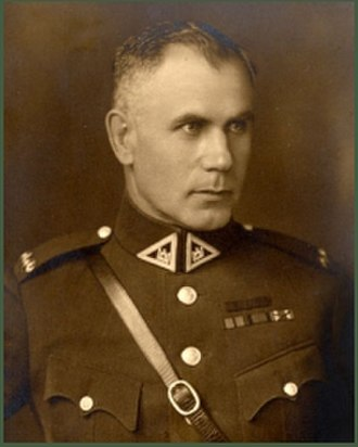 Vincas Vitkauskas - Image: General Vincas Vitkauskas (1890–1965)