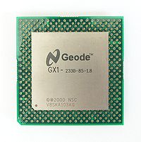 National Semiconductor Geode GX1, 233 MHz