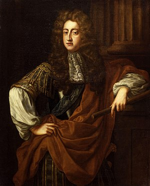 Prince George of Denmark - Portrait by John Riley, c. 1687