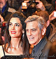 George Clooney and Amal Clooney - Berlin Berlinale 66 (24681742410).jpg