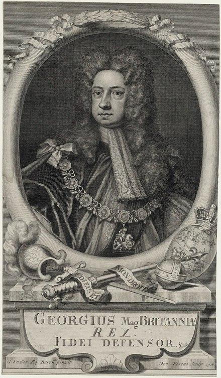 George I Vertue Kneller