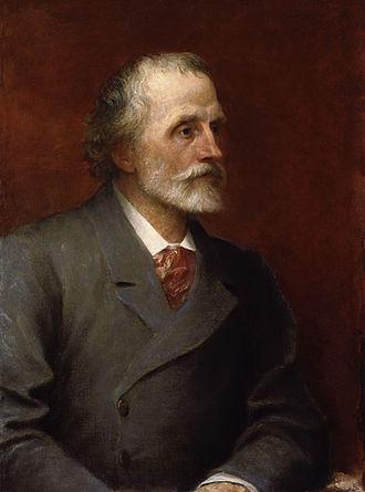 George Meredith - George Meredith in 1893 by George Frederic Watts