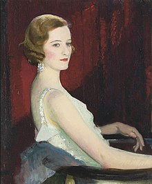 George Spencer Watson (1869–1934) - Portrait of Miss Beaton.jpg