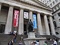 George Washington Statue, Federal Hall National Memorial, Wall Street, Manhattan, New York (7236981060).jpg