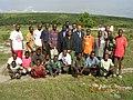 Georges Alula with the population of Kabuba pavec la population de Kabuba, region du Bandundu.JPG