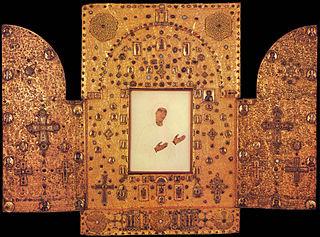 Khakhuli triptych