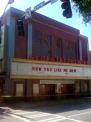 Georgia Theatre - Image: Georgia Theatre