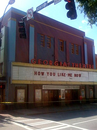 Georgia Theatre - Image: Georgia Theatre
