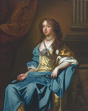 George Savile, 1st Marquess of Halifax - His second wife Gertrude