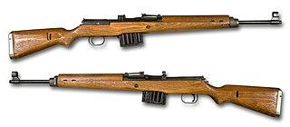 Gewehr 43 German semi-automatic rifle