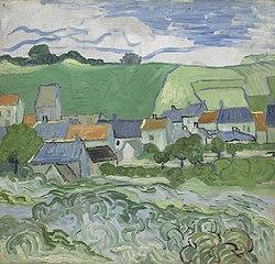 Vincent van Gogh: View of Auvers