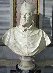 Bust of Cardinal Scipione Borghese (first version)