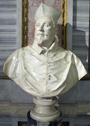 Two Busts of Cardinal Scipione Borghese - First version