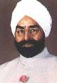 Giani Zail Singh 1995 stamp of India (cropped).png