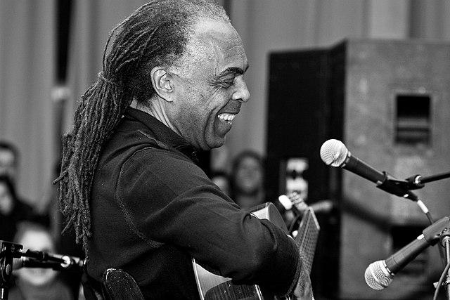 Musician Gilberto Gil