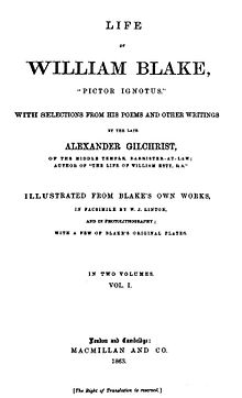 an introduction to the life of william blake Adnax publications  (1757 - 1827) short biography birth william blake was born at 28 broad street, golden square, soho, where his father had a.