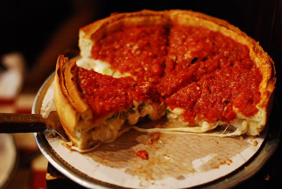 Giordanos stuffed pizza