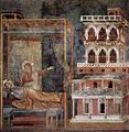Giotto di Bondone - Legend of St Francis - 3. Dream of the Palace - WGA09120.jpg
