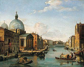 Giovanni Migliara - Image: Giovanni Migliara Venetian View WGA15652