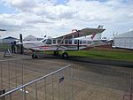 GippsAero GA10 (VH-XGY) on display at the 2015 Australian International Airshow.jpg