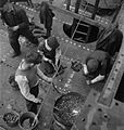 Glasgow Shipyard- Shipbuilding in Wartime, Glasgow, Lanarkshire, Scotland, UK, 1944 D20821.jpg