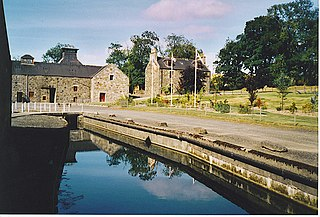 Glendronach Distillery Reflections. - geograph.org.uk - 165129.jpg