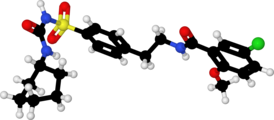 Glibenclamide-4YVP-ball-and-stick.png