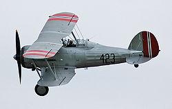 Gloster Gladiator Mk.I i norske farver