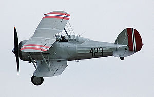 No. 263 Squadron RAF - Gloster Gladiator Mk.I in RNoAF colours