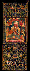 God of Fire, Agni, of the Medicine Buddha Mandala