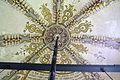 Godlinze - Pancratiuskerk - gewelfschildering rond sluitring (4).jpg
