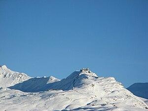 Gornergrat - Image: Gonergrat from Schwarzsee Paradise
