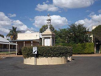 Goombungee, Queensland - Goombungee War Memorial