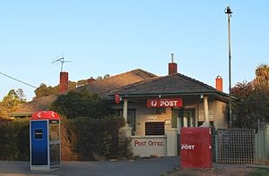 Goornong - Post office, 2009