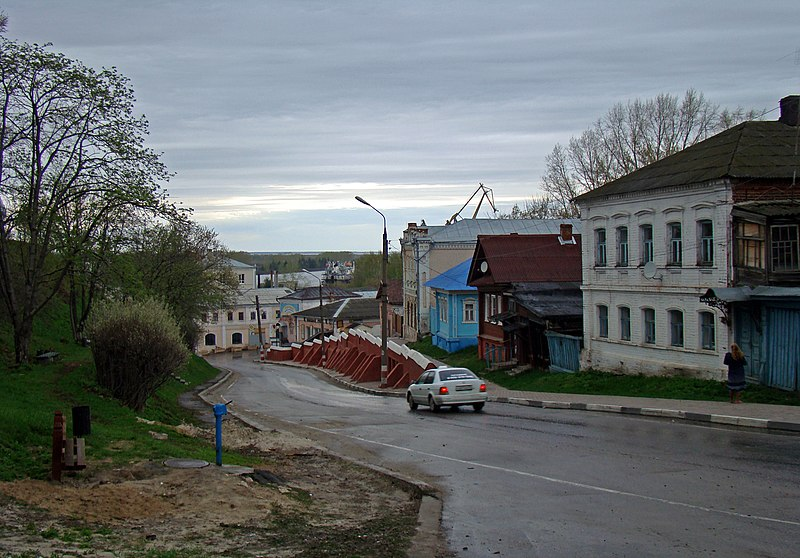 File:Gorodets. Streets of the town..jpg