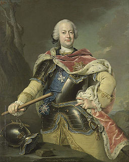 Frederick Christian, Elector of Saxony Elector of Saxony