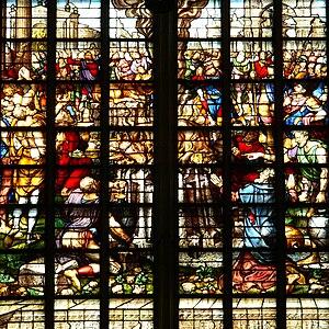 Wouter Crabeth I - Image: Gouda Sint Janskerk Glas 23 oben