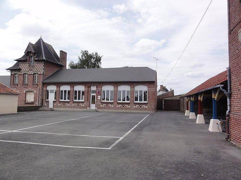Gouy (Aisne) école