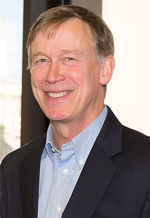Governor of Colorado - Image: Governor John Hickenlooper 2015