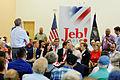 Governor of Florida Jeb Bush at TurboCam, Barrington, NH on August 40th by Michael Vadon.jpg