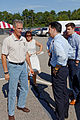 Governor of Wisconsin Scott Walker (and Scott Brown) at Seacoast Harley Davidson in North Hampton NH on July 16th 2015 by Michael Vadon 15.jpg