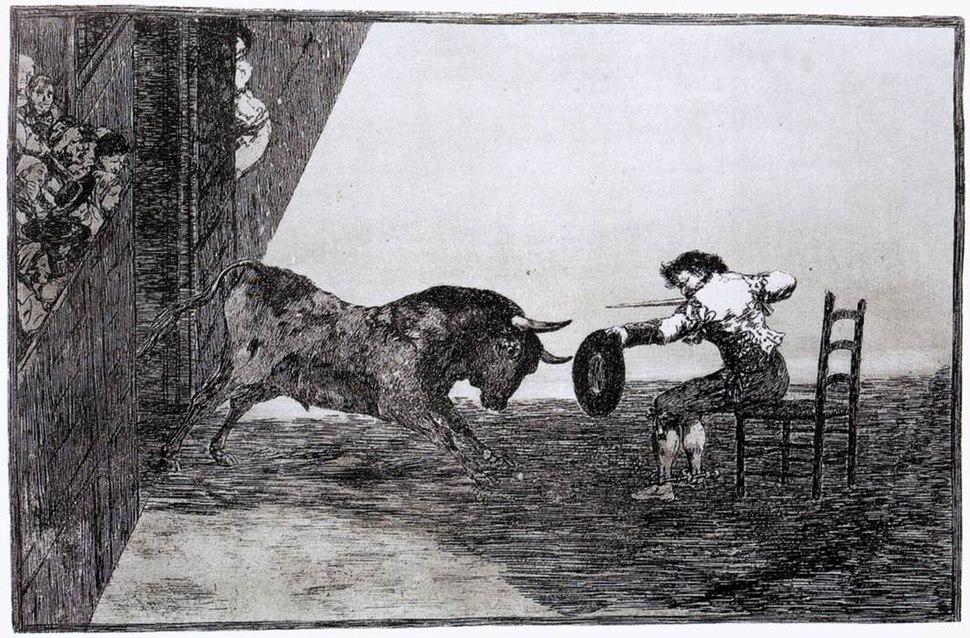 Goya Tauromachia1